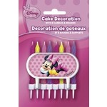Candles-Minnie Mouse-8pk