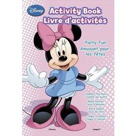 Activity Book-Minnie Mouse Bow-tique-4pk
