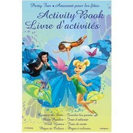 Activity Book-TinkerBell-4pk