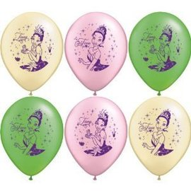 Balloons-Latex-The Princess and Frog-12''-8pk (Discontinued)