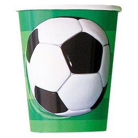 Paper Cups-Soccer-8pkg-9oz