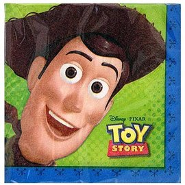 Napkins-BEV-Toy Story-16pk-2ply - Discontinued