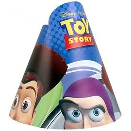 Hats-Cone-Toy Story-8pk-Paper (Discontinued)