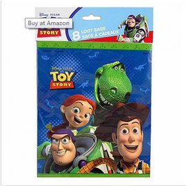 Loot bags-Toy Story-8pk (Discontinued)