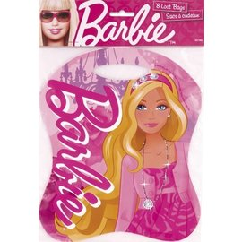 Loot Bags-Barbie-8pk