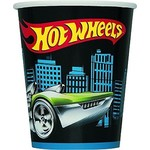 Cups-Hot Wheels-Paper-9oz-8pk