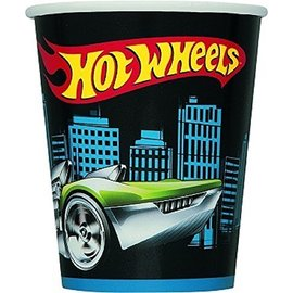 Cups-Hot Wheels-Paper-9oz-8pk