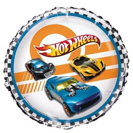 Foil Balloon - Hot Wheels - 18''