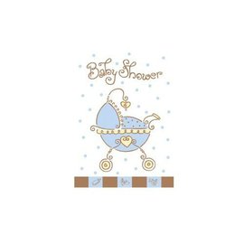 Invitations-Baby Joy Blue-8pk