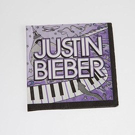Napkins-BEV-Justin Bieber-16pk-2ply (Discontinued)