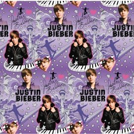 Gift Wrap-Justin Bieber-30inx5ft