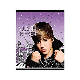 Loot Bag-Justin Bieber-8pk (Discontinued)
