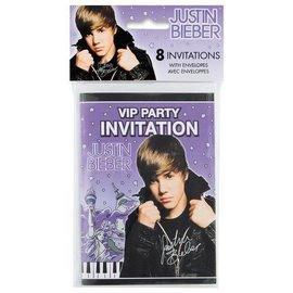 Invitations-Justin Bieber-8pk