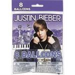 Balloons-Latex-Justin Bieber-8pk