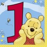 Beverage Npakins-Winnie the Pooh-16pk-2ply-Discontinued/Final Sale