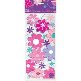 "Loot Bags- Flower Blossom- 20pcs (11.5""x5"")"
