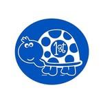 Cutouts-1st Bday Turtle-10pk
