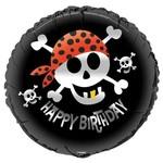 Foil Balloon - Pirate Fun Birthday - 18''
