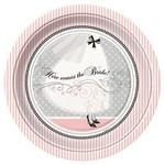 "Luncheon Paper Plates- Elegant Wedding- 8pk/9""  (Discontinued)"