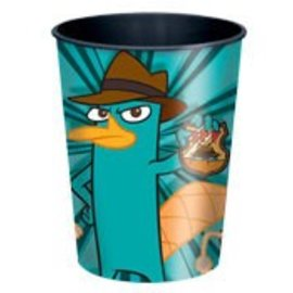 Cup-Phineas and Ferb-Plastic - Discontinued