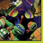 Napkins-BEV-Ninja Turtles-16pk-2ply- Discontinued