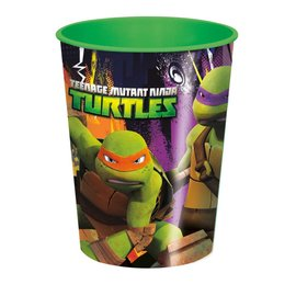 Cups-Plastic Teenage Mutant Ninja Turtles- Discontinued