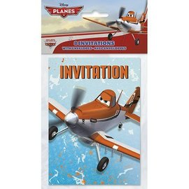 Invitations-Disney Planes-8pk (Discontinued)