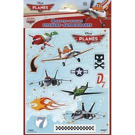 Stickers-Disney Planes-4Sht (Discontinued)