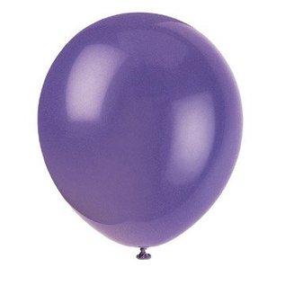 Balloons-Latex-Amethyst Purple-12''-10pk