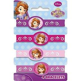 Bracelets-Sofia the First-4pk