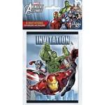 Invitations-Avengers-8pk