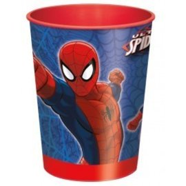Cup-Ultimate Spider-Man-Plastic-16oz
