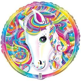 Foil Balloon - Neon Pony Lisa Frank - 18''