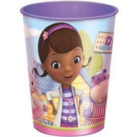 Cup-Doc Mcstuffins-Plastic-16oz - Discontinued