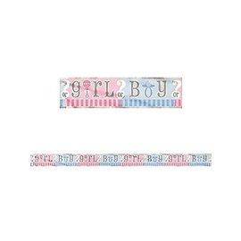 Banner-Gender Reveal-Foil-12Ft