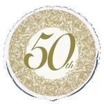 Foil Balloon - 50th Anniversary - 18''