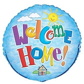 Foil Balloon - Welcome Home - 18''