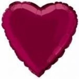 Foil Balloon - Burgundy - 18''