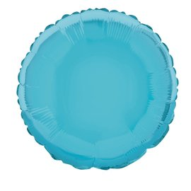 Foil Balloon - Round - Baby Blue - 18''