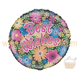 Foil Balloon - Best Wishes - 18''
