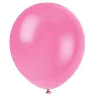 Balloons-Latex-Bubblegum Pink -12''-10pk