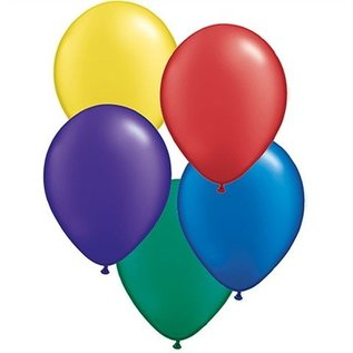 Balloons-latex-Assorted Color Pearlized-12''-8pk