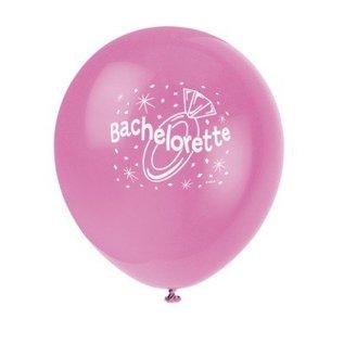 Balloons-Latex-Bachelorette-Pink-12'' (6pk)