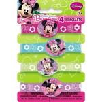 Bracelets-Minnie Mouse Bow-tique-4pk