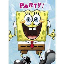 Invitations-SpongeBob-8pk