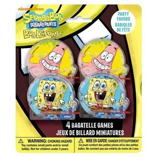 Bagatelle Game-SpongeBob-4pk