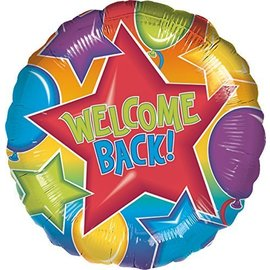 Foil Balloon - Festive Welcome Back - 18""