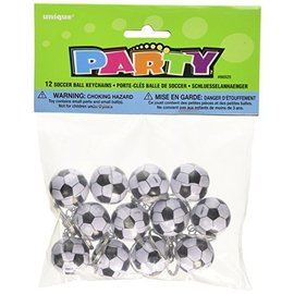 Key Chains-Soccer Ball-12pk