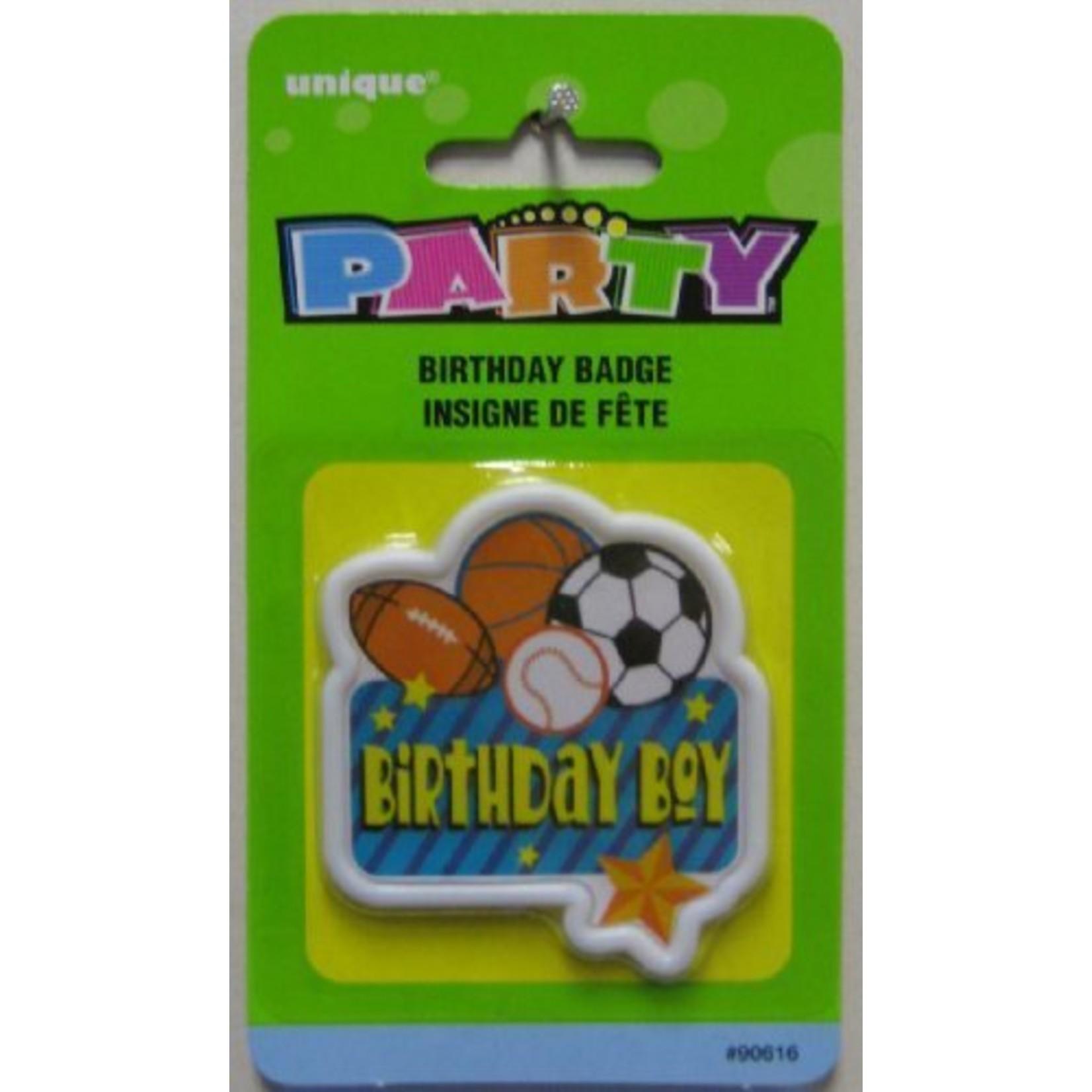 Badge-Birthday Boy