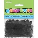 Confetti- Black Stars- 14g